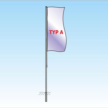 Mast ohne Ausleger TypA