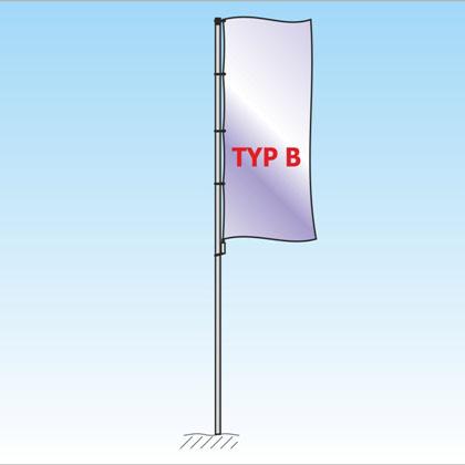 Mast ohne Ausleger TypB