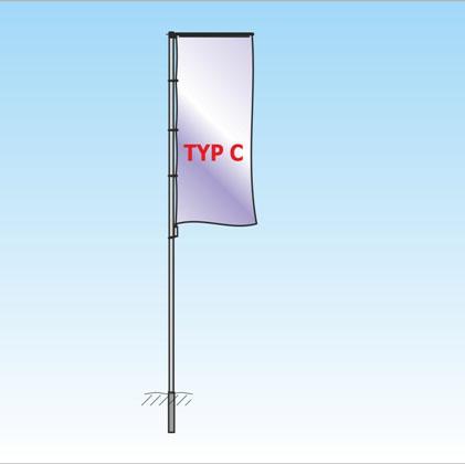 Auslegermast TypC
