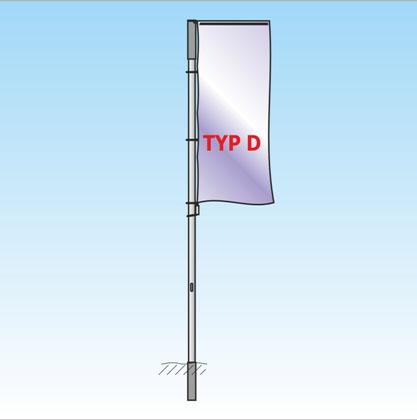 Auslegermast TypD