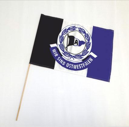 Schwenkflagge mit Stab
